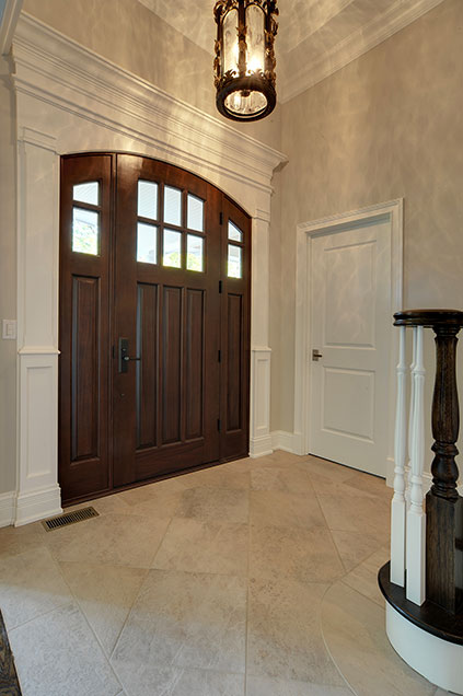 1001-Woodlawn-Glenview - Entry-door-interior - Globex Developments Custom Homes