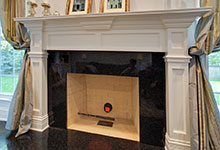 1001-Woodlawn-Glenview - Fireplace Detail  - Globex Developments Custom Homes