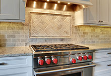 1001-Woodlawn-Glenview - Kitchen Backsplash Detail  - Globex Developments Custom Homes