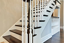 1001-Woodlawn-Glenview - Staircase Detail  - Globex Developments Custom Homes