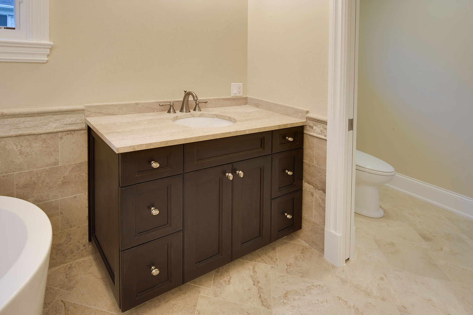 Bathroom Vanity Queens master-bathroom-vanity | new custom homes | globex developments