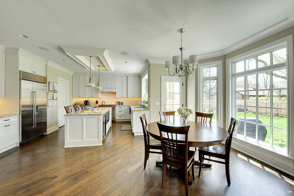 1005-Queens-Glenview - Kitchen-Dining-Area - Globex Developments Custom Homes