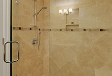 1005-Queens-Glenview - Basement  Bathroom  Shower - Globex Developments Custom Homes
