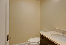 1005-Queens-Glenview - Basement  Bathroom - Globex Developments Custom Homes