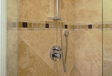 1005-Queens-Glenview - Basement  Shower  Detail - Globex Developments Custom Homes