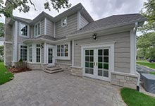 1005-Queens-Glenview - House  Patio  Doors - Globex Developments Custom Homes