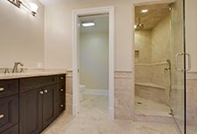 1005-Queens-Glenview - Master  Bathoom  Walkway - Globex Developments Custom Homes