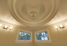 1005-Queens-Glenview - Master  Bathroom  Light  Off - Globex Developments Custom Homes