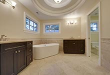 1005-Queens-Glenview - Master  Bathroom - Globex Developments Custom Homes