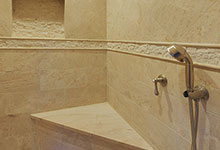 1005-Queens-Glenview - Master Bathroom  Shower  Detail - Globex Developments Custom Homes
