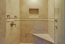 1005-Queens-Glenview - Master Bathroom  Shower  Entry - Globex Developments Custom Homes