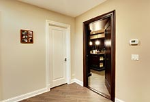 1005-Queens-Glenview - Winecellar Entrance - Globex Developments Custom Homes