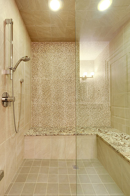 1021-Huckleberry-Glenview - Basement-Shower - Globex Developments Custom Homes