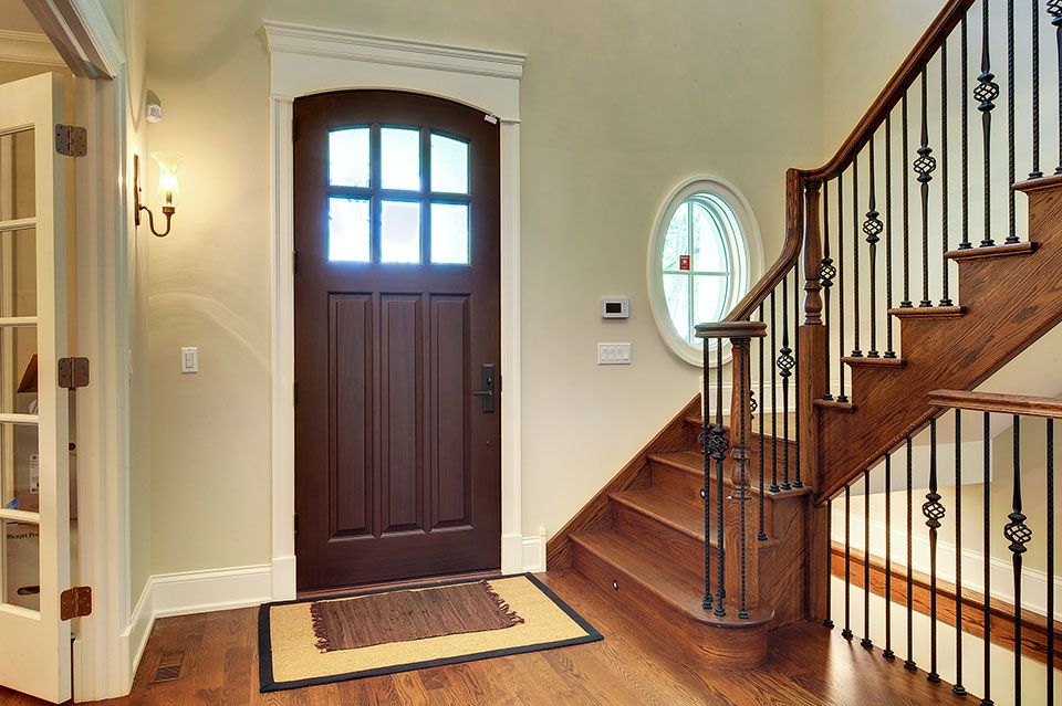 1021-Huckleberry-Glenview - Entry-Door-Interior - Globex Developments Custom Homes