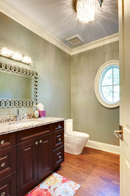 1021-Huckleberry-Glenview - Powder-Room - Globex Developments Custom Homes