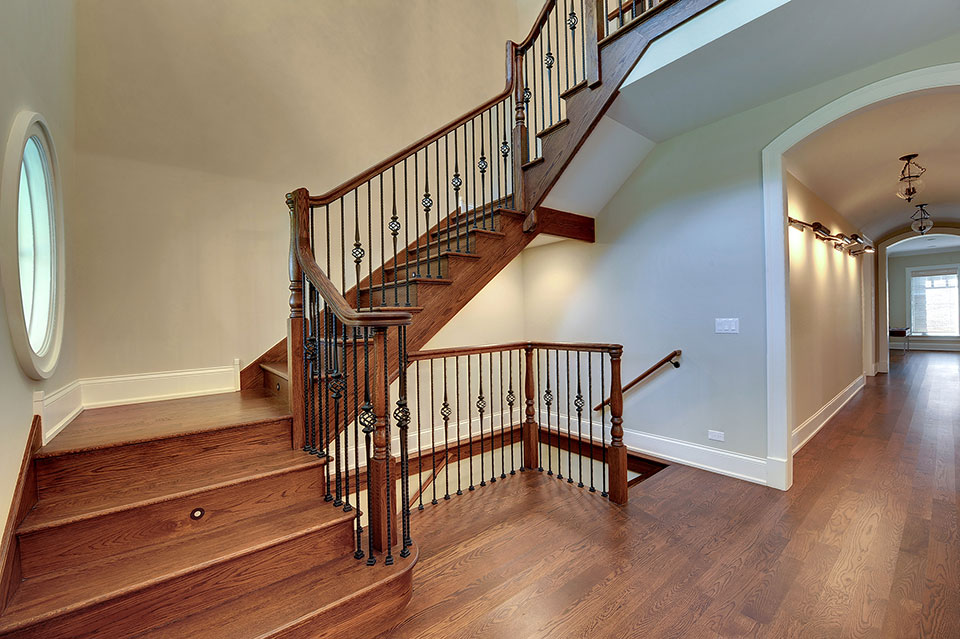 1021-Huckleberry-Glenview - Staircase - Globex Developments Custom Homes