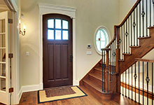 1021-Huckleberry-Glenview - Entry Door Interior - Globex Developments Custom Homes