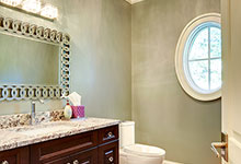 1021-Huckleberry-Glenview - Powder Room - Globex Developments Custom Homes