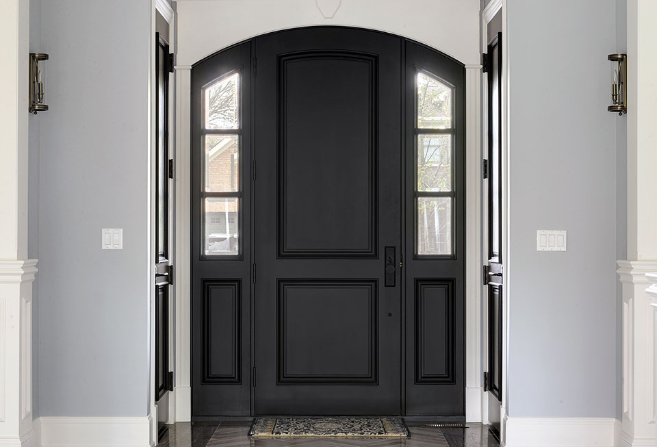 1044-Woodlawn-Glenview - Entry-Door-Interior - Globex Developments Custom Homes