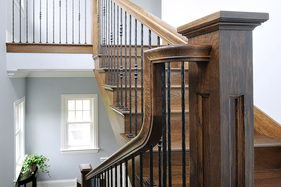 1044-Woodlawn-Glenview - Staircase-Detail - Globex Developments Custom Homes