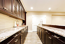 1044-Woodlawn-Glenview - Basement Bar Cabinets - Globex Developments Custom Homes