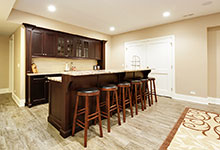 1044-Woodlawn-Glenview - Basement Bar - Globex Developments Custom Homes