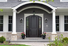 1044-Woodlawn-Glenview - Entry Door Exterior - Globex Developments Custom Homes