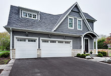 1044-Woodlawn-Glenview - House Garage - Globex Developments Custom Homes