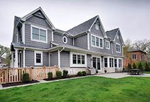 1044-Woodlawn-Glenview - House Rear - Globex Developments Custom Homes