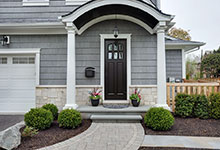 1044-Woodlawn-Glenview - House Side Entry Door - Globex Developments Custom Homes
