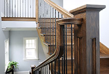 1044-Woodlawn-Glenview - Staircase Detail - Globex Developments Custom Homes