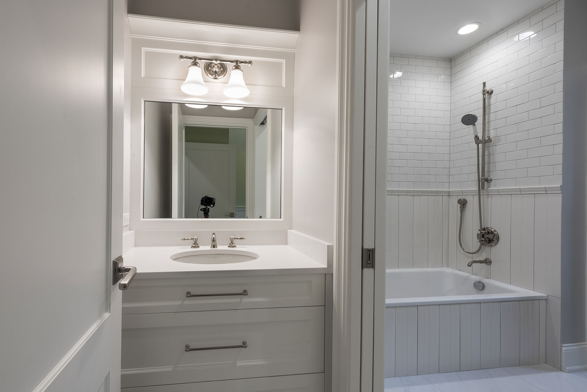 Custom Bathroom Vanities Chicago Bathroom Vanity, Transitional Style Custom  Home | Glenview Haus