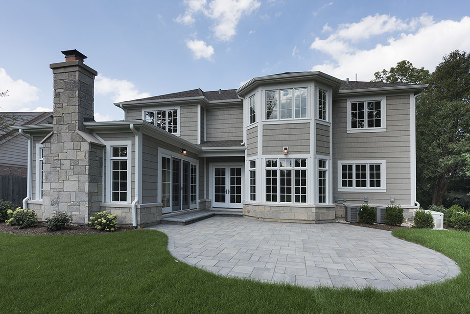 1205-Pleasant-Glenview - Back-Elevation - Globex Developments Custom Homes