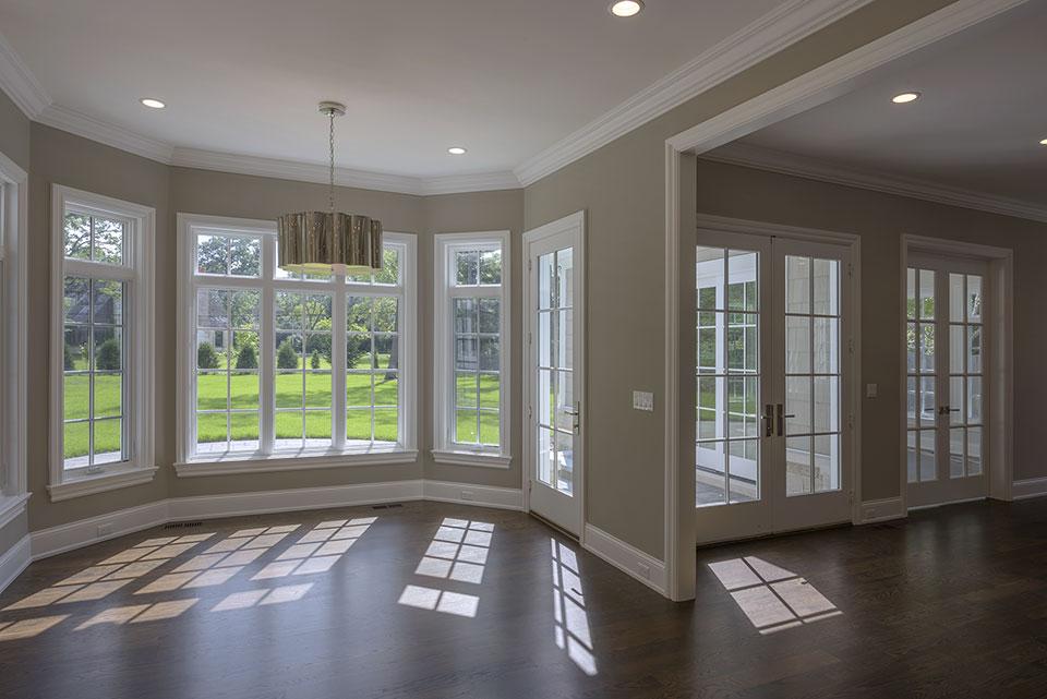 1205-Pleasant-Glenview - Dining Room, Patio Doors - Globex Developments Custom Homes