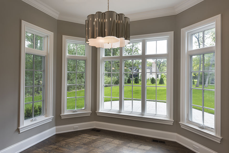 1205-Pleasant-Glenview - Dining Room, Windows - Globex Developments Custom Homes
