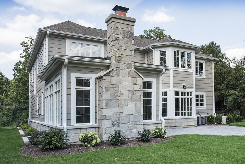 1205-Pleasant-Glenview - Exterior-Side-Elevation - Globex Developments Custom Homes