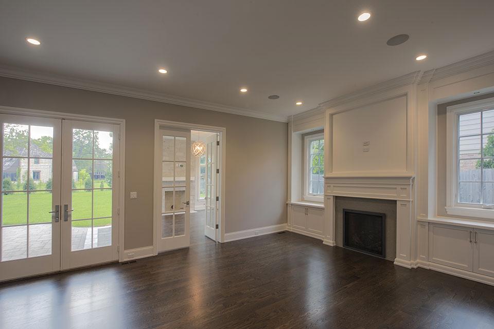 1205-Pleasant-Glenview - Living Room - Globex Developments Custom Homes