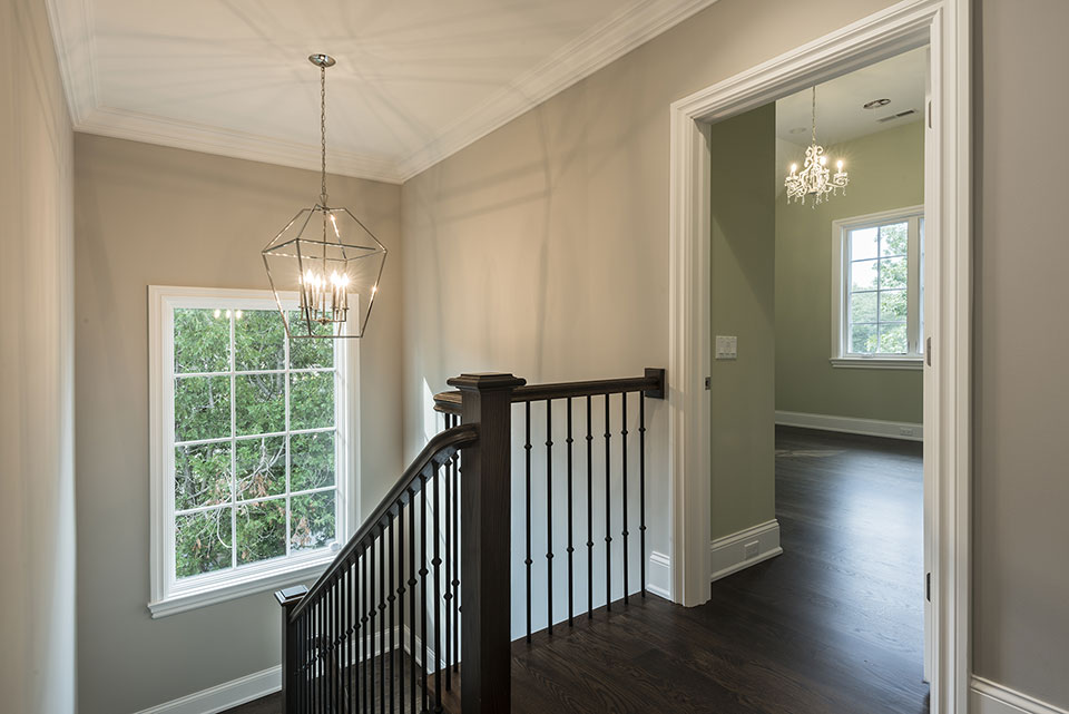 1205-Pleasant-Glenview - Stairs, Second Floor - Globex Developments Custom Homes