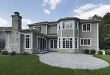 1205-Pleasant-Glenview - Back Elevations - Globex Developments Custom Homes