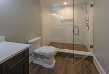 1205-Pleasant-Glenview - Basement Bathroom - Globex Developments Custom Homes