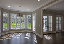 1205-Pleasant-Glenview - Dining Room, Patio Doors - Globex Developments Custom Homes