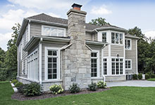 1205-Pleasant-Glenview - Side Elevation - Globex Developments Custom Homes