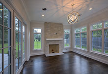 1205-Pleasant-Glenview - Family Room, Fireplace - Globex Developments Custom Homes