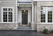 1205-Pleasant-Glenview - Front Door, House Entrance - Globex Developments Custom Homes
