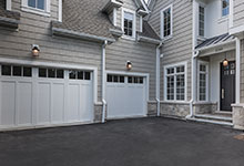 1205-Pleasant-Glenview - House Entrance, Garage View - Globex Developments Custom Homes