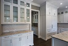 1205-Pleasant-Glenview - Kitchen Cabinets, Butlers Bar - Globex Developments Custom Homes