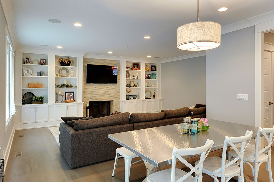 1206-Raleigh-Glenview - Family-Room-Dining-Area - Globex Developments Custom Homes