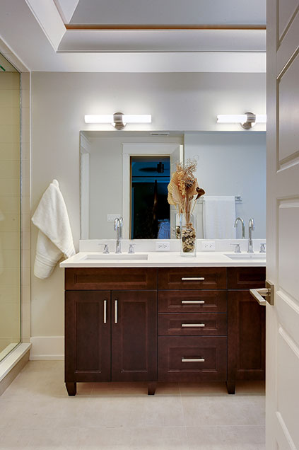 1206-Raleigh-Glenview - Master-Bath-Entrance - Globex Developments Custom Homes