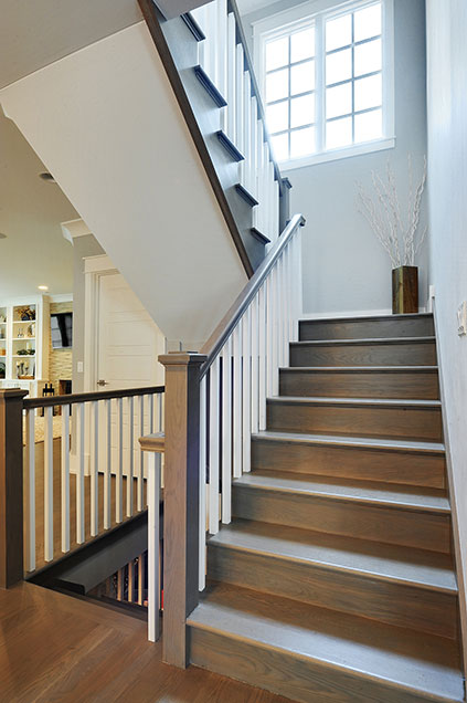 1206-Raleigh-Glenview - Staircase - Globex Developments Custom Homes