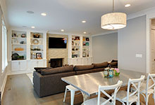 1206-Raleigh-Glenview - Family Room Dining Area - Globex Developments Custom Homes